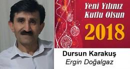 Dursun Karakuş'un Yeni Yıl Mesajı