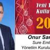 Onur Sarıgül'ün Yeni Yıl Mesajı