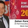 Şaban Karasakal'ın Yeni Yıl Mesajı