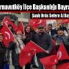 İYİ Parti Arnavutköy İlçe Başkanlığı Türk Bayrağı Dağıttı
