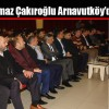 Fırat Yılmaz Çakıroğlu Arnavutköy'de Anıldı