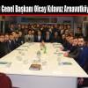 Ülkü Ocakları Genel Başkanı Olcay Kılavuz Arnavutköy'ü Ziyaret Etti