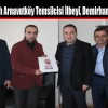 Erbakan Vakfı Arnavutköy Temsilcisi İlbeyi, Demirhan'ı Ziyaret Etti