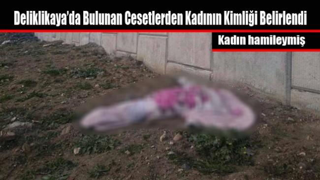 Deliklikaya'da Bulunan Cesetlerden Kadının Kimliği Belirlendi