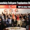 MHP Arnavutköy İstişare Toplantısı Düzenledi