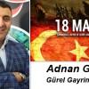 Adnan Gürel'in Çanakkale Zaferi ve Şehitleri Anma Günü Mesajı