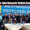 İYİ Parti'nin 'Anlat Hemşerim' Otobüsü Arnavutköy'de