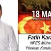 Fatih Karabalık'ın Çanakkale Zaferi ve Şehitleri Anma Günü Mesajı