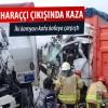 Arnavutköy-Hadımköy yolunda iki kamyon çarpıştı