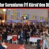 Vatandaşlar Sorunlarını İYİ Kürsü'den Dile Getirdi