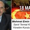 Mehmet Emin Yerdelen'in Çanakkale Zaferi ve Şehitleri Anma Günü Mesajı