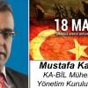 Mustafa Karakuş'un Çanakkale Zaferi ve Şehitleri Anma Günü Mesajı