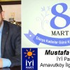 Mustafa Vural'ın 8 Mart Dünya Kadınlar Günü Mesajı