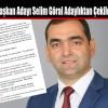 Ak Parti İlçe Başkan Adayı Selim Göral Adaylıktan Çekildiğini Açıkladı