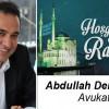 Av. Abdullah Demirhan'ın Ramazan Ayı Mesajı