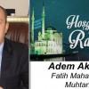 Adem Akgün'ün Ramazan Ayı Mesajı