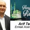 Arif Taş'ın Ramazan Ayı Mesajı