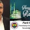 Ferit Fidan'ın Ramazan Ayı Mesajı