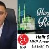 Halit Şenel'in Ramazan Ayı Mesajı