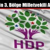 HDP'nin 3. Bölge Milletvekili Adayları