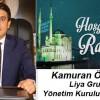 Kamuran Öztürk'ün Ramazan Ayı Mesajı