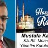 Mustafa Karakuş'un Ramazan Ayı Mesajı