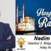Nedim Kılıç'ın Ramazan Ayı Mesajı