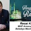 Recai Koç'un Ramazan Ayı Mesajı