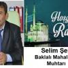 Selim Şen'in Ramazan Ayı Mesajı