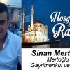 Sinan Mertoğlu'nun Ramazan Ayı Mesajı