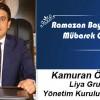 Kamuran Öztürk'ün Ramazan Bayramı Mesajı