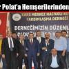 Özdemir Polat'a Hemşerilerinden Destek