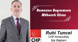 Ruhi Tuncel'in Ramazan Bayramı Mesajı