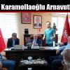 Temel Karamollaoğlu Arnavutköy'de