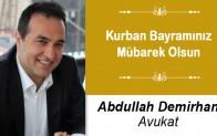 Abdullah Demirhan'ın Kurban Bayramı Mesajı