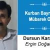 Dursun Karakuş'un Kurban Bayramı Mesajı