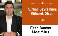 Fatih Bostan'ın Kurban Bayramı Mesajı