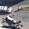 Hoca Ahmet Yesevi Caddesi'nde trafik kazası