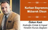 Özkan Kadı'nın Kurban Bayramı Mesajı