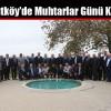 Arnavutköy'de Muhtarlar Günü Kutlandı
