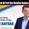 Ercan Bayrak Ak Parti'den Belediye Başkan Aday Adayı