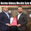 Gazeteci Kerim Güney Meclis İçin Başvurdu