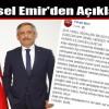 Yüksel Emir'den Açıklama