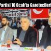 Saadet Partisi 10 Ocak'ta Gazetecileri Ağırladı