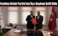 Yeniden Refah Partisi Arnavutköy İlçe Başkanlığına Abdurrezzak İlbeyi Atandı