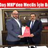 Hikmet Daş MHP'den Meclis İçin Başvurdu
