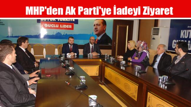 MHP'den Ak Parti'ye İadeyi Ziyaret