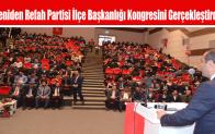 Yeniden Refah Partisi İlçe Başkanlığı Kongresini Gerçekleştirdi