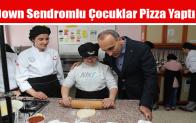 Down Sendromlu Çocuklar Pizza Yaptı