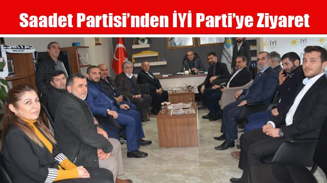 Saadet Partisi'nden İYİ Parti'ye Ziyaret